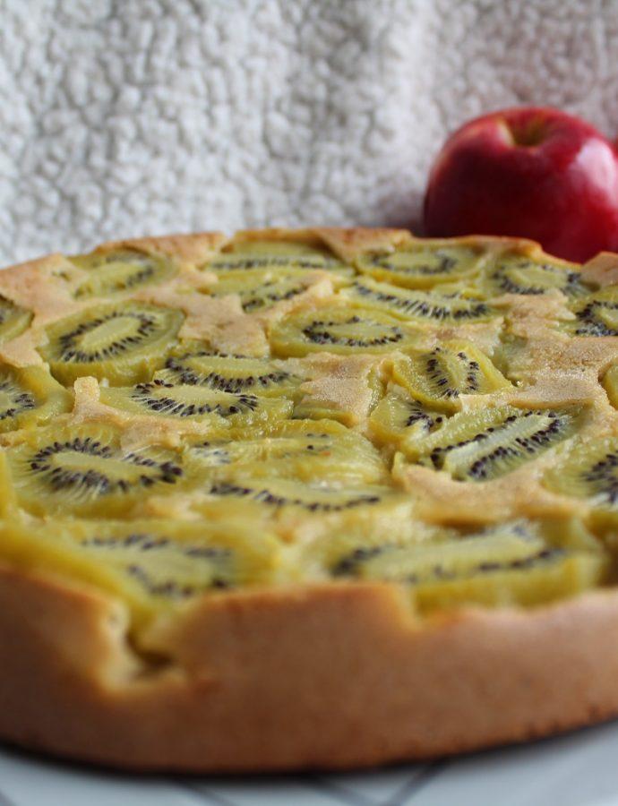 Gâteau tatin aux kiwis, pommes et 4 épices