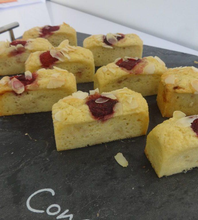 Cake amande et fraises