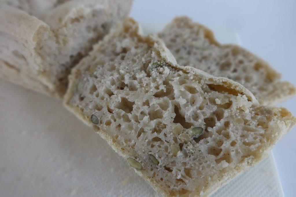 Pain sans gluten aux graines