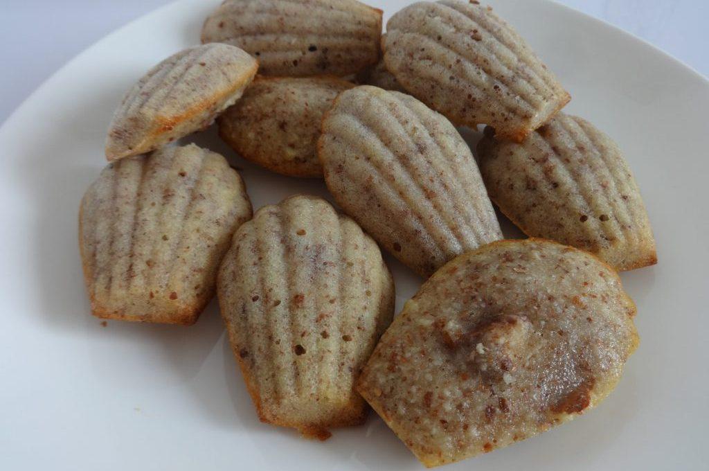 Madeleines fondantes à l'amande ( sans gluten )
