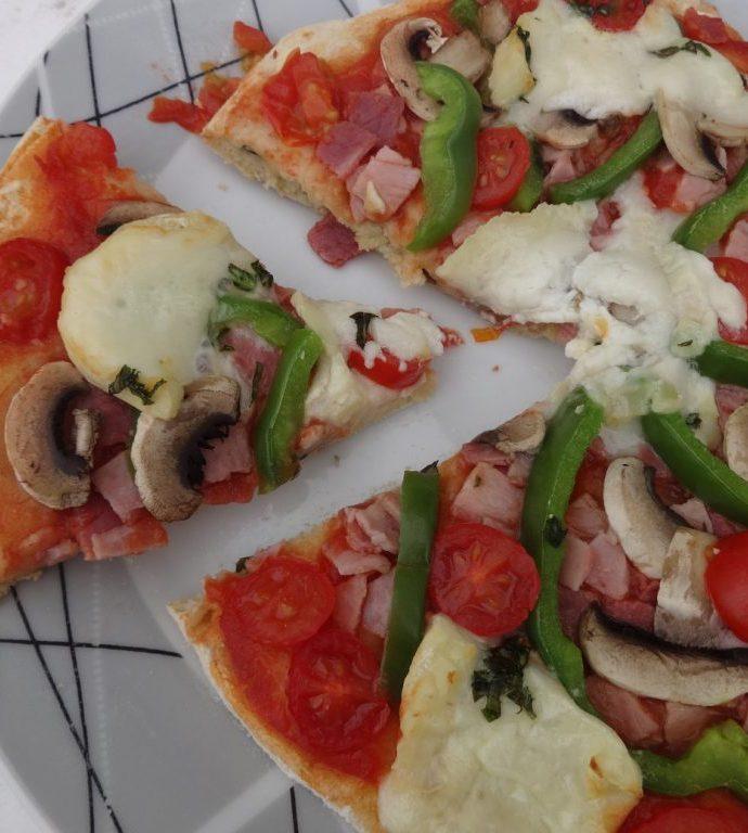 Pâte à pizza aux graines ( sans gluten )