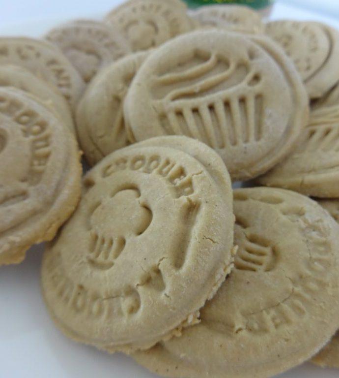 Sablés au beurre de cacahuètes ( sans gluten, sans lactose, sans beurre )