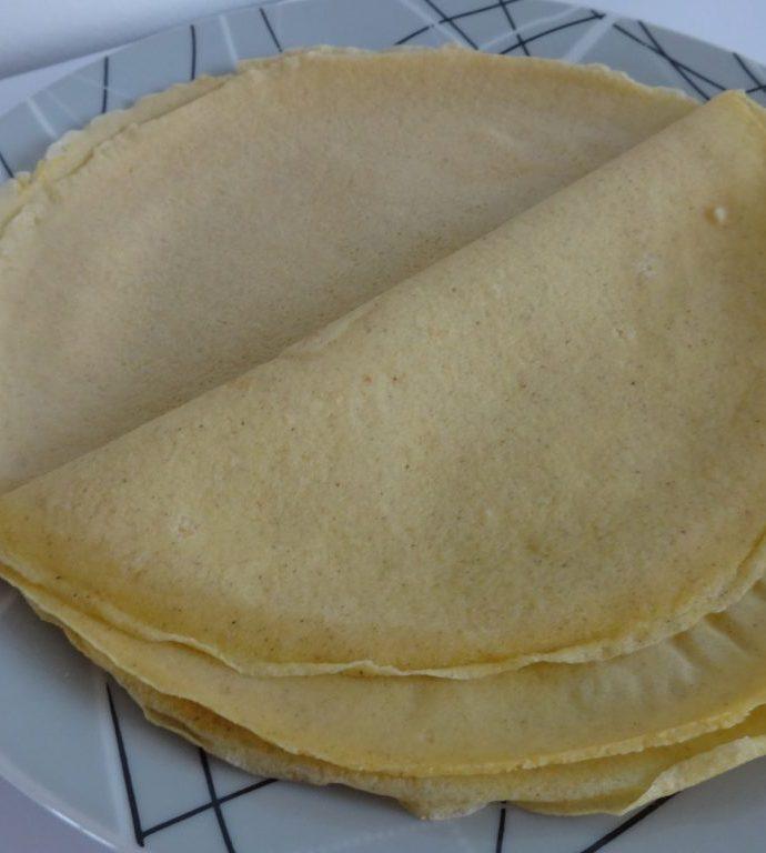 Crêpes moelleuses ( sans gluten, sans lactose )