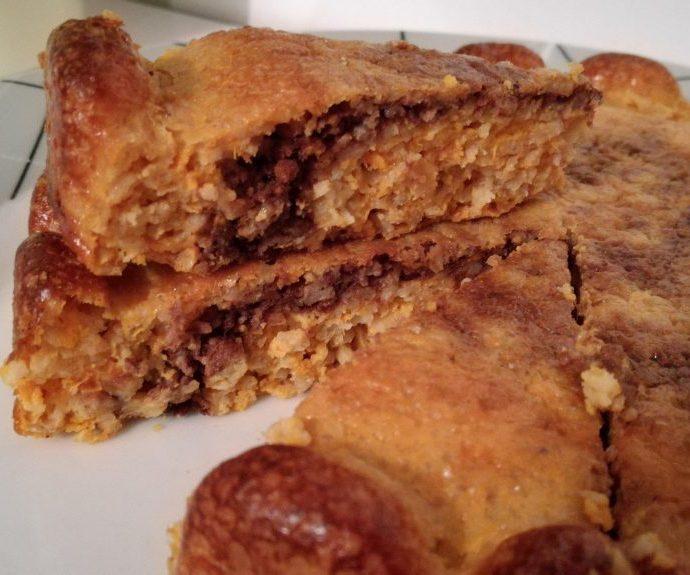 Gâteau marbré à la patate douce et au chocolat ( sans matière grasse )