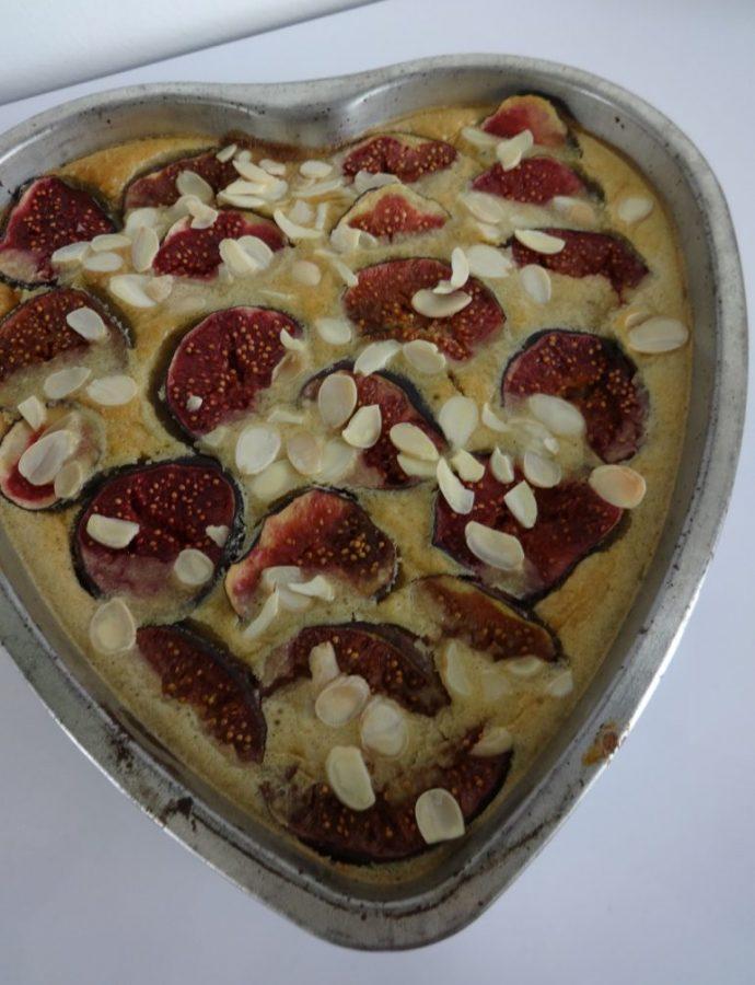 Flan amandes et figues ( sans gluten, sans lactose )