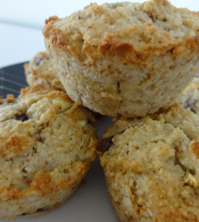 Cookies muffins aux pépites de chocolat