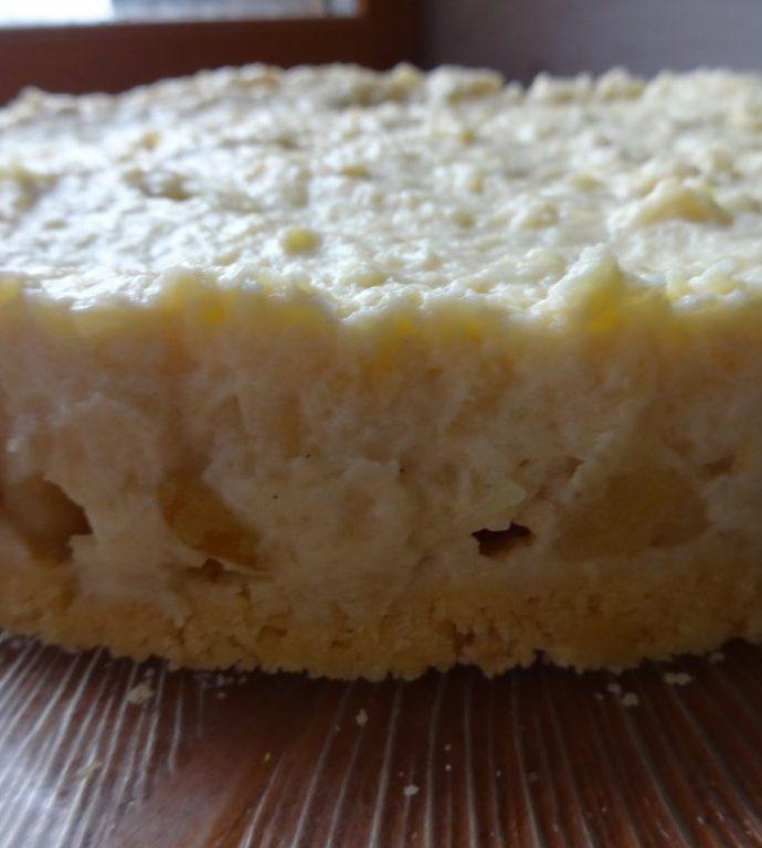 Bavarois aux pommes ( sans gluten, sans lactose )