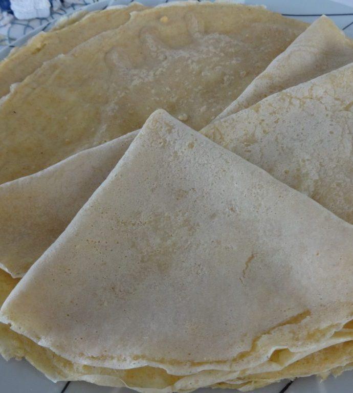 Crêpes veganes moelleuses ( sans lactose, sans oeuf )