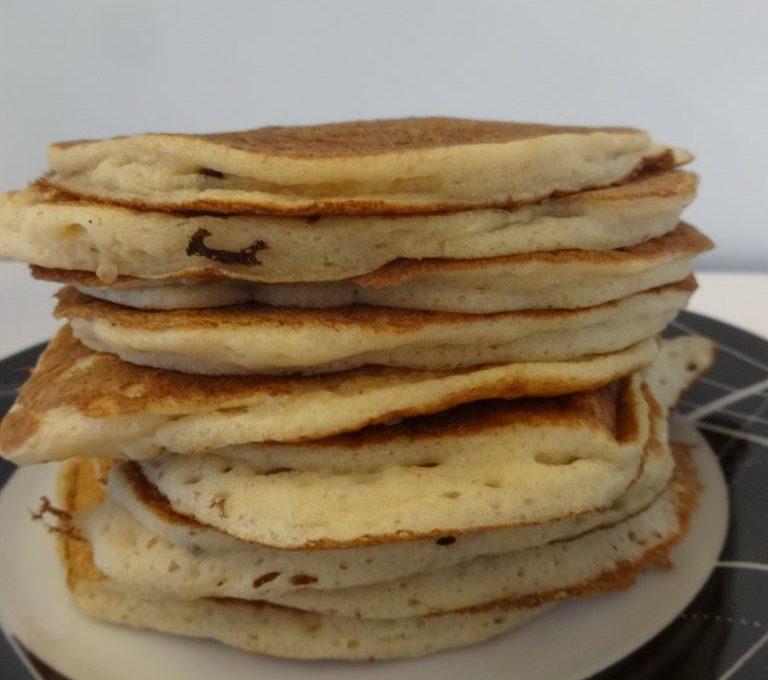 Hotcakes aux pépites de chocolat ( pancakes japonais )