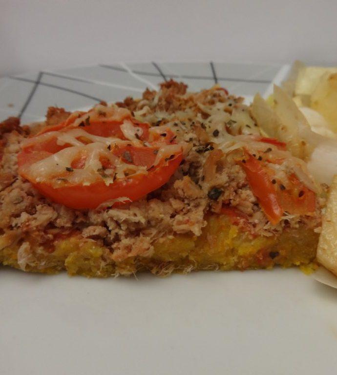 Tarte au thon ( pâte à base de courge)