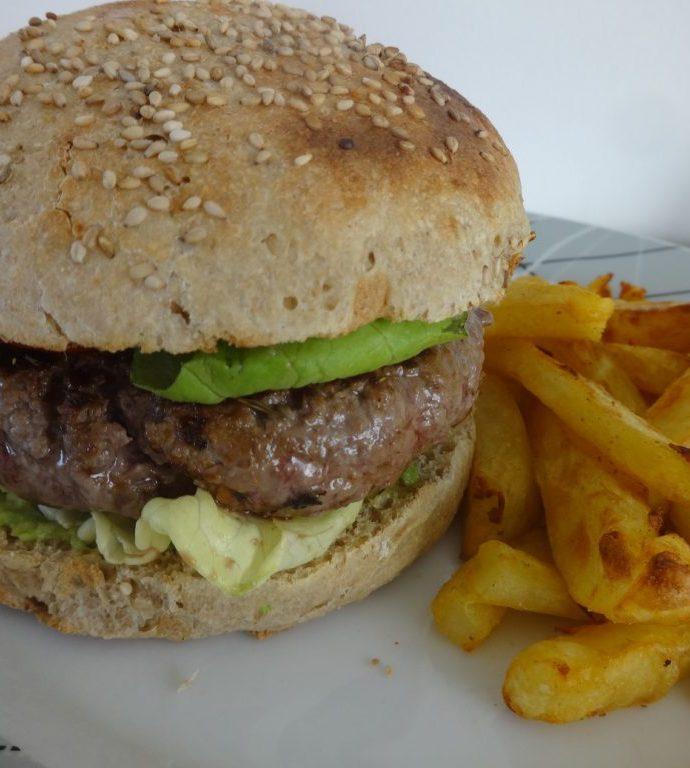 Pains Burgers à l'épeautre ( sans beurre )