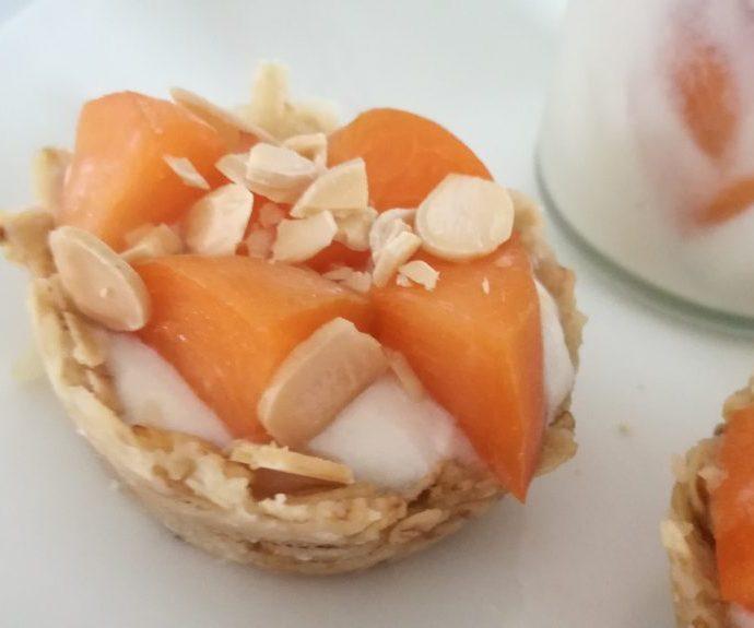 Tartelettes amande abricots