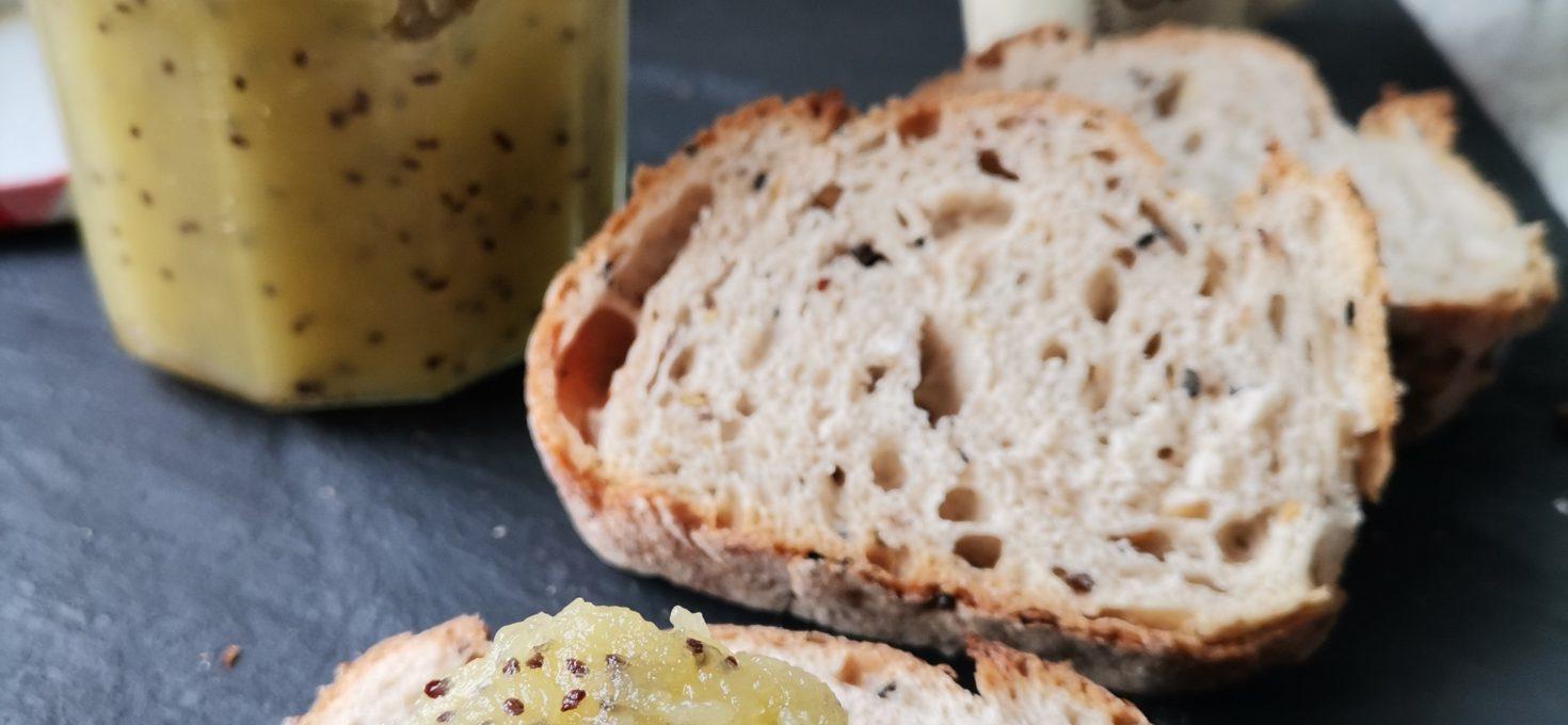 Pâte à tartiner pomme/kiwi ( vegan )