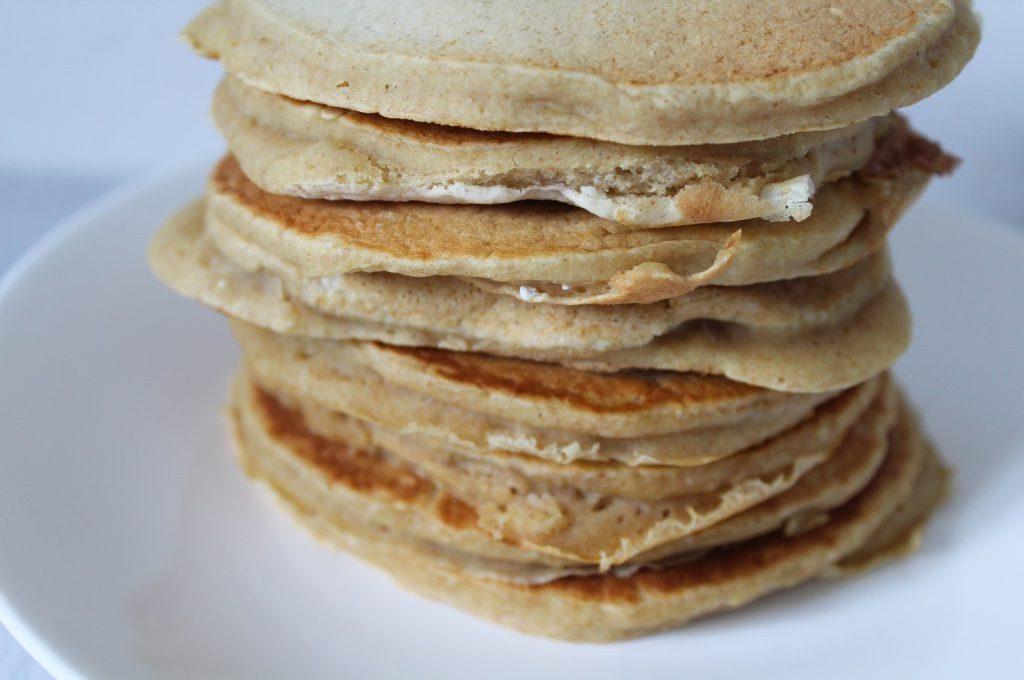 Pancakes vegan tout moelleux