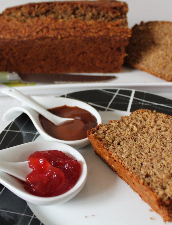 Bread cake au sarrasin ( sans beurre )
