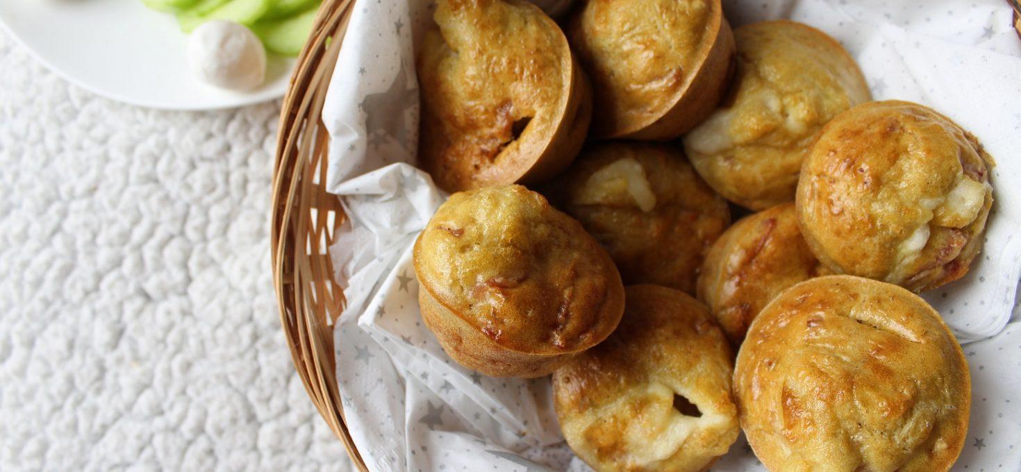 Muffins coeur mozza